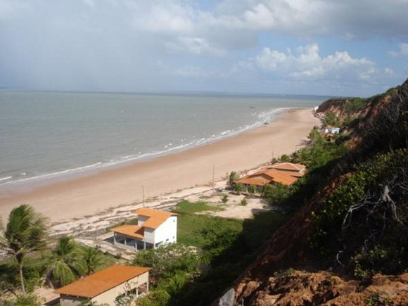 Praia de Ponta Verde - Sao José de Pirabas, Maranhao foto: wikimapia