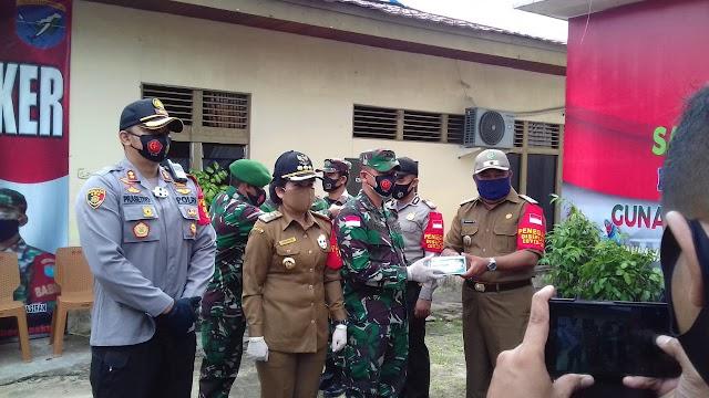 Cegah Pandemi, Kodim Singkawang Canangkan Satgas Desa Tangkal Covid-19