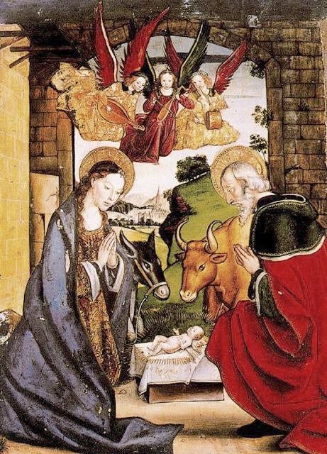 Pedro Berruguete - Nativity