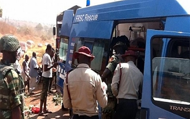 Three officials of the Federal Road Safety Corps,(FRSC), have been struck to death by thunder