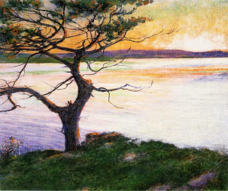 John Breck - View Across Ipswich Bay, Near Cambridge Beach