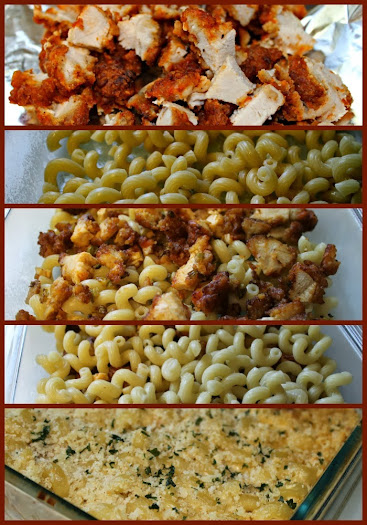 Tailgating Recipes: Buffalo Chicken Mac & Cheese Tutorial #shop #MealsTogether
