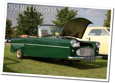 1958 BOND CARS - MK E CABRIOLET - autodimerda.it