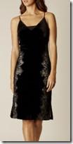 Karen Millen Velvet Slip Dress
