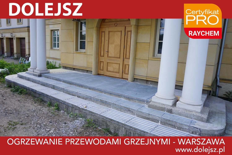 Ogrzewanie schodów Warszawa