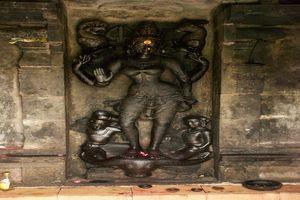 Thirunanipalli (Ponsei) Temple – Goddess Kotravai