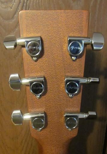 martin guitar machine heads
