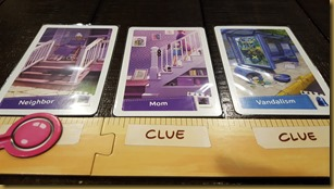 Player board with 3 clues