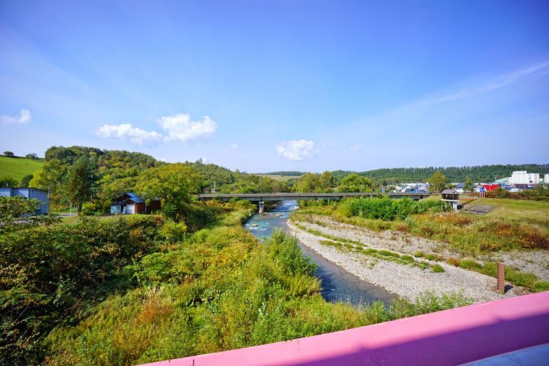 美瑛 四季の橋 赤い橋 写真3