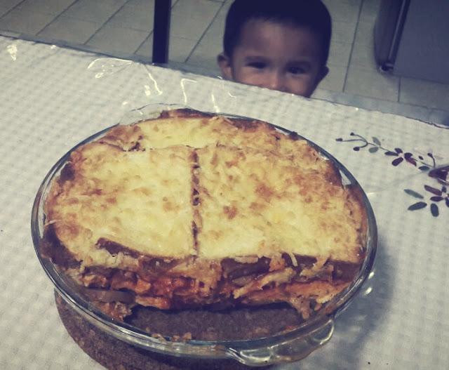 Cara Saya Buat Chicken Bread Lasagna