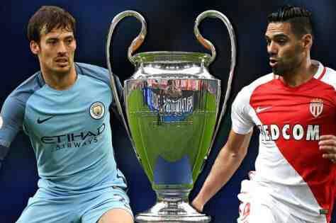 Monaco vs Manchester City Champions League Match Highlight