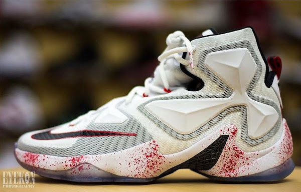 Closer Look at Friday the 13th Nike LeBron XIII 13