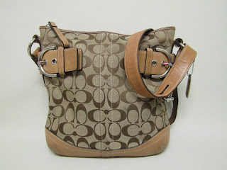 Coach Monogrammed Cross-Body Bag