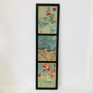 Vintage Printed Silk Trio