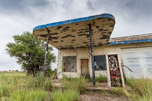 Old Gas station 2 Route 66 New Mexico