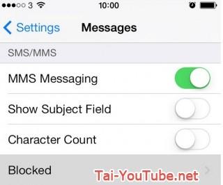 Hình 8 - Hướng dẫn cách chặn cuộc gọi, tin nhắn trên iPhone