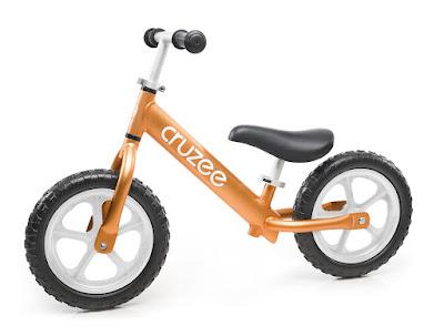 Xe tập cân bằng Cruzee màu cam