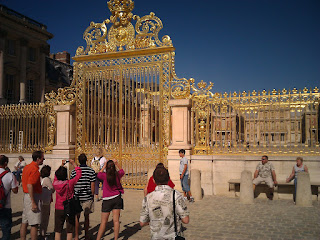 Versailles (I went to the garden but didn't actually pay to get it)