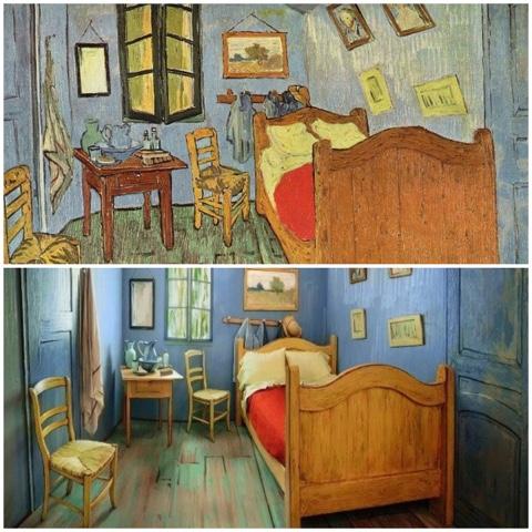 VOCE DI RUTALIla suite Dormir dans la chambre de Van Gogh - Description De La Chambre De Van Gogh