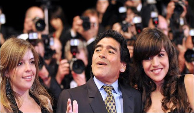 Football Legend Maradona Ask Court To Jail His Daughters For Stealing £3.4milion From Him
