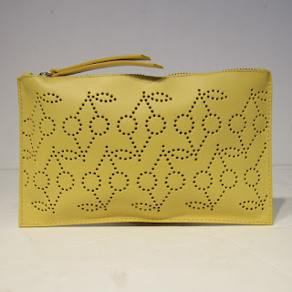 Bonpoint Perforated Zip Pouch