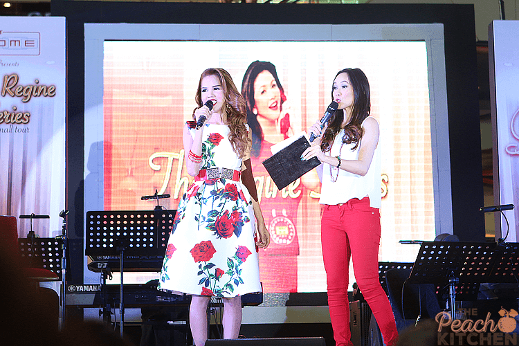 PLDT Launches The Regine Series Mall Tour Featuring The Latest PLDT Landline Telsets