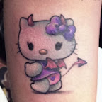 arm - Hello Kitty Tattoos Pictures