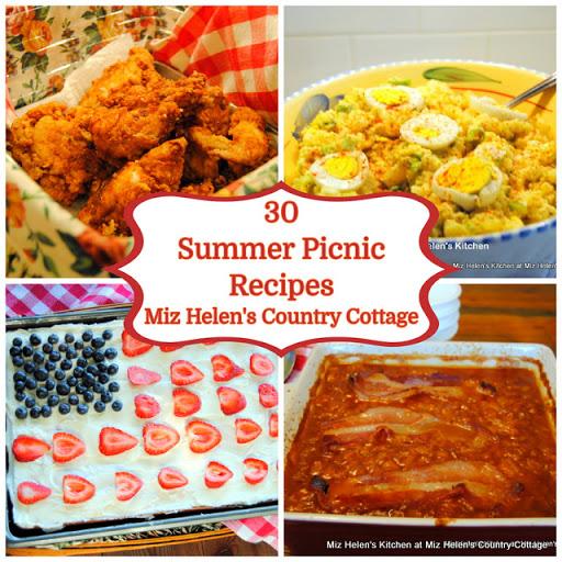30 Summer Picnic Recipes
