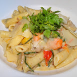 pasta at De Worsteltent on Texel in Texel, Noord Holland, Netherlands