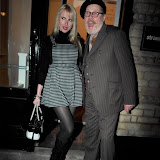 WWW.ENTSIMAGES.COM -  Nancy Sorrell and Vic Reeves  at    HOT VALVE LEAK: Visual Ramblings of Vic Reeves - private view at The Strand Gallery  London February 12th 2013                                                   Photo Mobis Photos/OIC 0203 174 1069