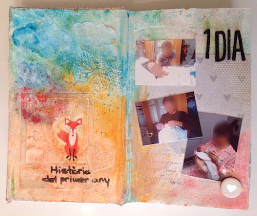 Mixed media libro alterado