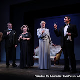 """Marty O'Connor, Tim Orcutt, Susan Katz, Cristine M. Loffredo and Paul Dederick in """"Mystery at Twicknam Vicarage"""" as part of THE IVES HAVE IT - January/February 2012.  Property of The Schenectady Civic Players Theater Archive."""