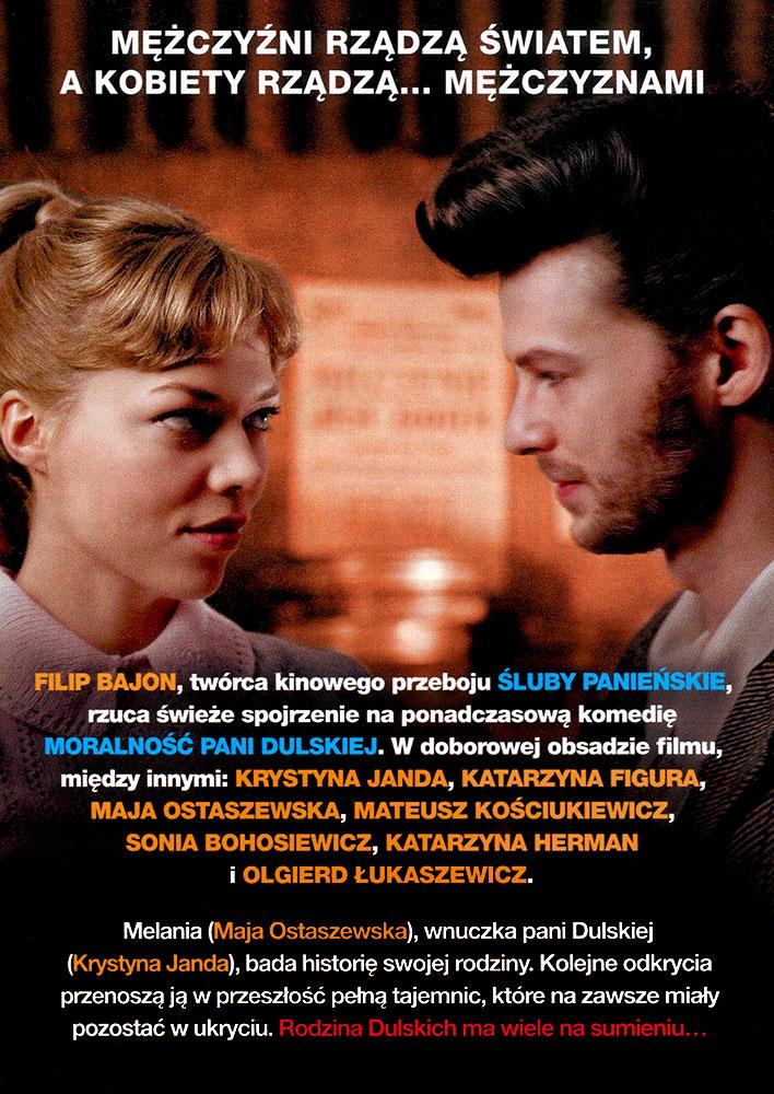 Ulotka filmu 'Panie Dulskie (tył)'