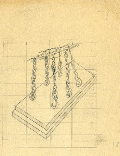 Scaled Drawing for Monument to the Six Million
