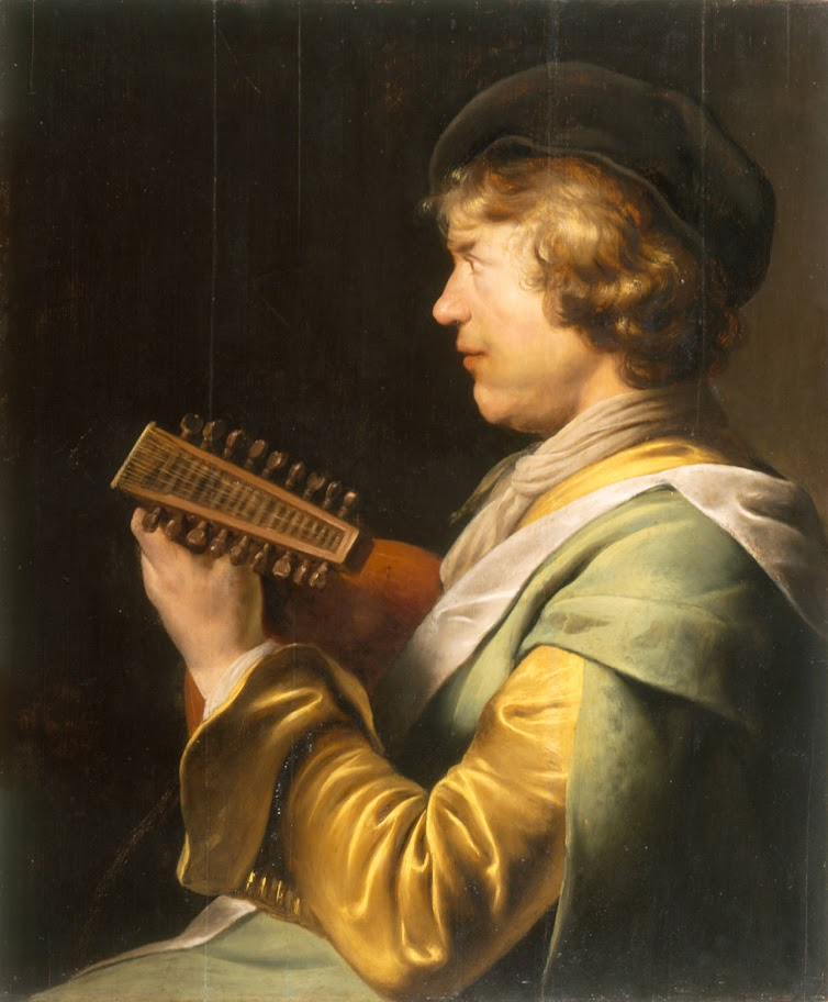 Jan Lievens - Lute Player