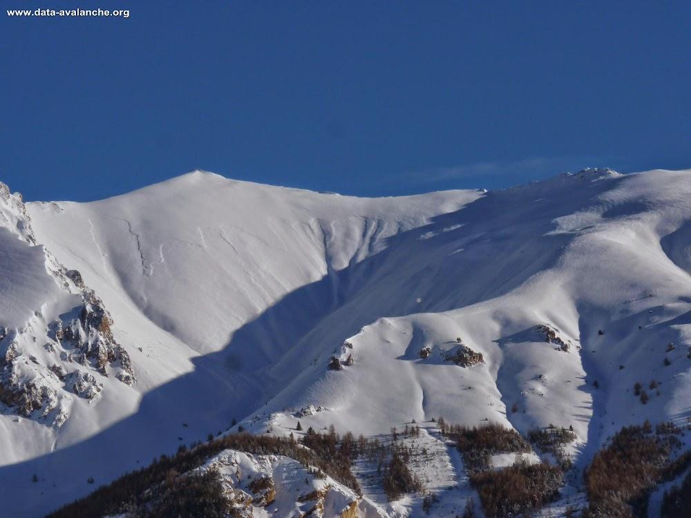 Avalanche Queyras, secteur Pointe de Rasis - Photo 1