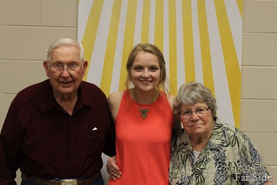 Paige and her Great Grandparents