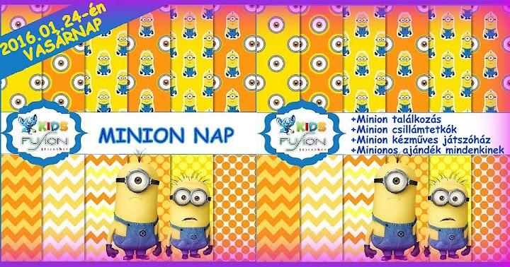 Minion Nap a KIDS Fusionben - 2016.01.24. vasárnap