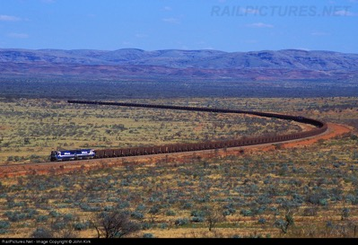 Train across the Pilbara