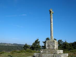 Photo: 4ème étape, mardi 19 avril - de Saint-Alban-sur-Limagnole à Lasbros. Vers Grazières-Mages
