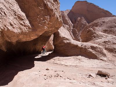 En bicicleta a la Quebrada del Diablo