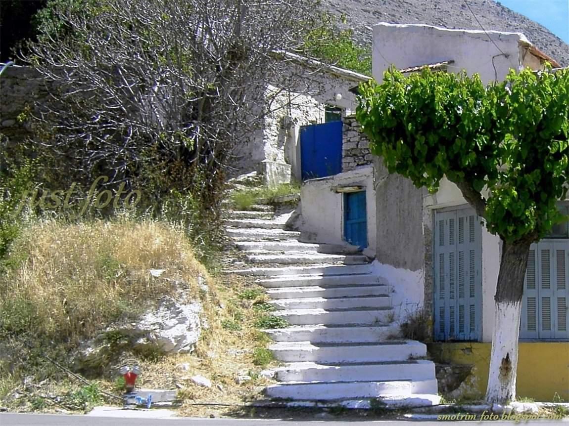 Крит старый дом на плато Лассити фото