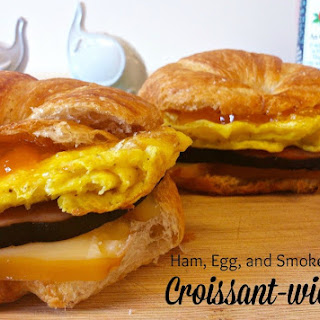 Ham Egg & Swiss Croissant-wiches