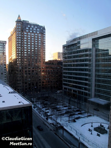Montreal,  Downtown, Hotelul Intercontinental