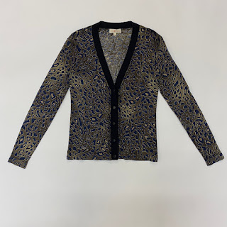Tory Burch Print Cardigan