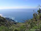 Ocean views along connector trail