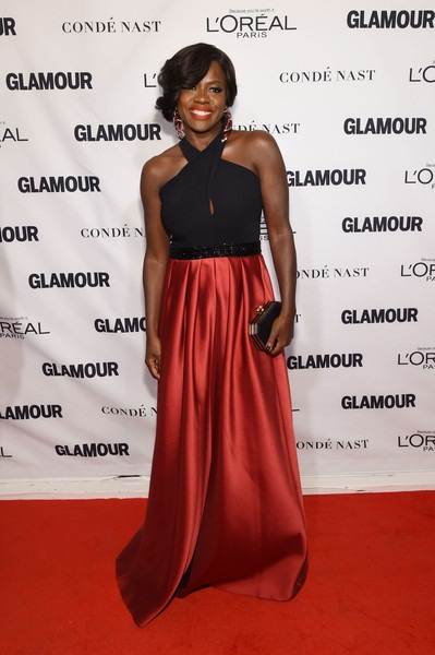 Viola Davis attends 2015 Glamour Women Of The Year Awards