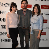 OIC - ENTSIMAGES.COM - Fiona O'Shaughnessy, Cian Barry and Abigail Hardingham at the Film4 Frightfest on Monday   of  Nina Forever  UK Film Premiere at the Vue West End in London on the 31st  August 2015. Photo Mobis Photos/OIC 0203 174 1069