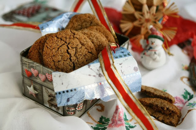 Gluten-Free Chewy Ginger Molasses Cookies