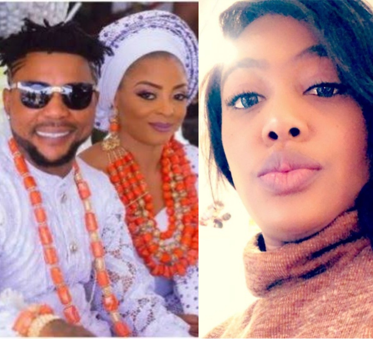 """""""I kept quiet to protect his very diminished brand"""" Oritsefemi's former manager, The Lady Kara slams him as she takes side with his wife Nabila"""